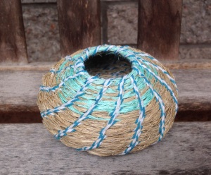 natural fibre ship's rope, polypropylene rope, baker's twine, beeswax